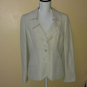 Ann Taylor size 10 cream colored jacket